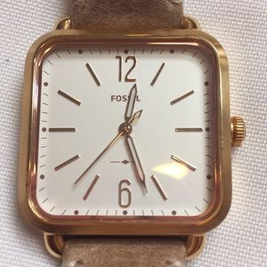 Fossil Womens Micah Watch W/ Tan Leather Band